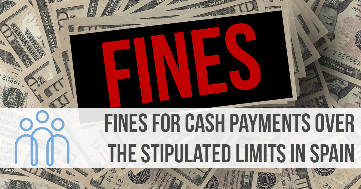 fines for cash payments