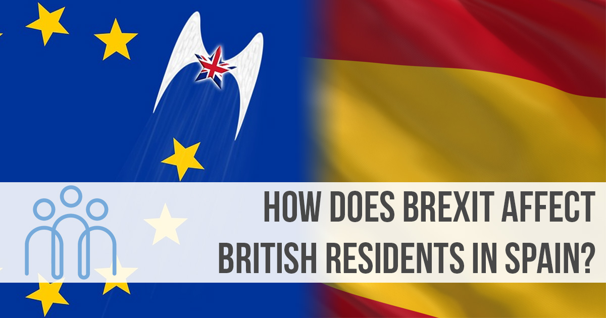 How does Brexit affect British residents in Spain?
