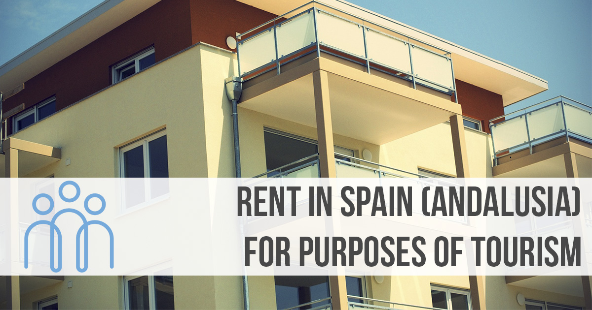 Rent in Spain for purposes of tourism