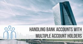 Handling bank accounts with multiple account holders