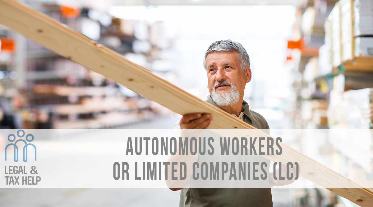 Autonomous workers or limited companies